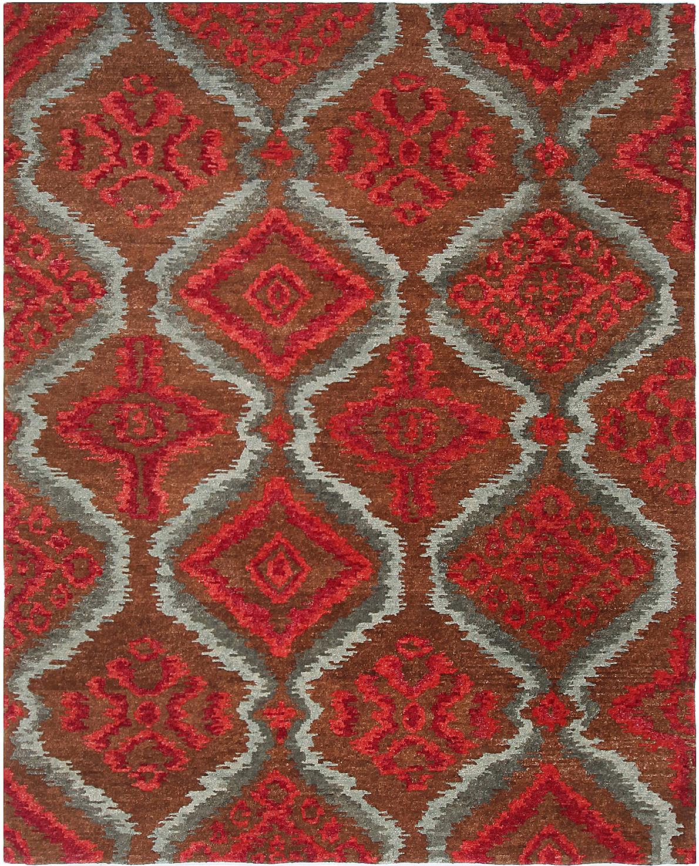 Nourison Tahoe Mta06 Rugs Brown Red