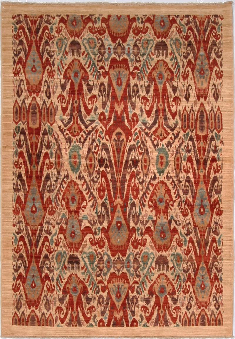 Cyrus Afghani Ikat Rugs 8285