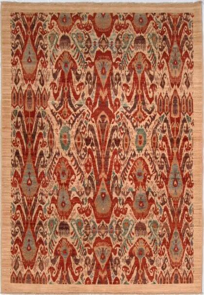 Cyrus Artisan Afghani Ikat Rug