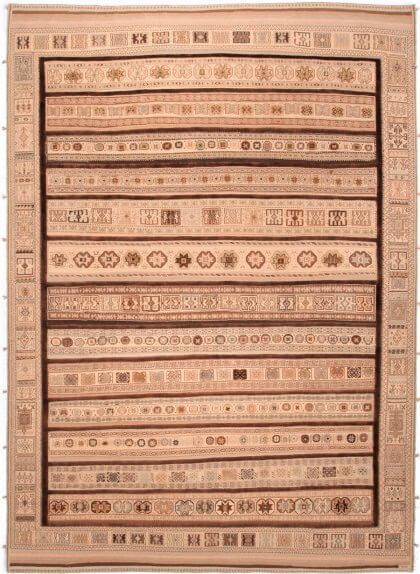Cyrus Artisan Persian Balouch Soumak Rug