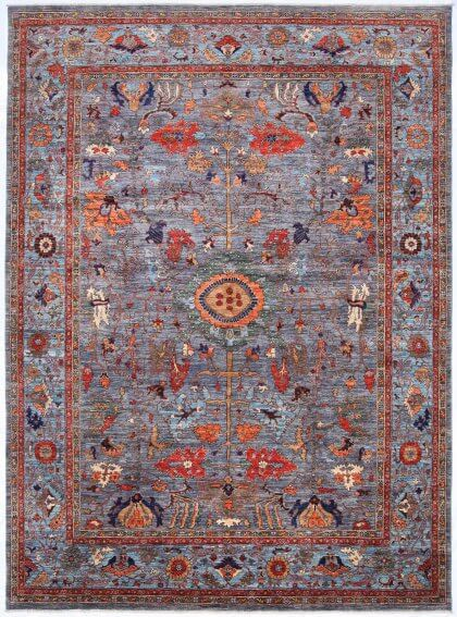 Cyrus Artisan Afghani Caucasian Rug