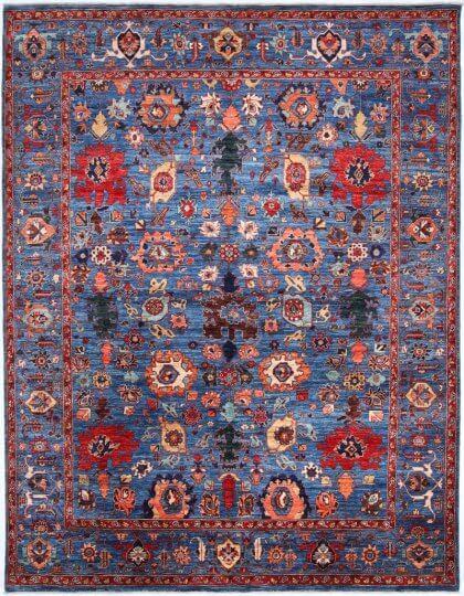 Cyrus Artisan Afghani Karajeh Rug