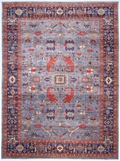 Cyrus Artisan Afghani Heriz Rug