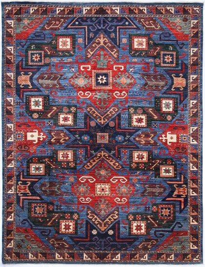 Cyrus Artisan Afghani Kazak Rug