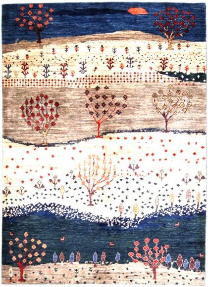 Cyrus Artisan Afghani Gabbeh Rug