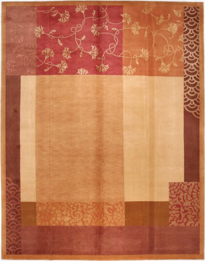 Cyrus Artisan Deco Floral Rug